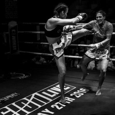 Enfusion kickbox wedstrijd Thailand