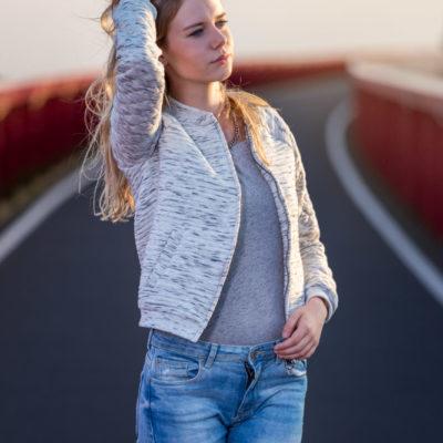 Fashion fotoshoot spoorbrug zwolle