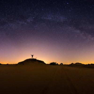 Melkweg Kootwijkerzand panorama