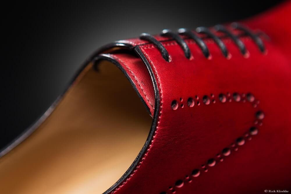 Productfotografie design schoen
