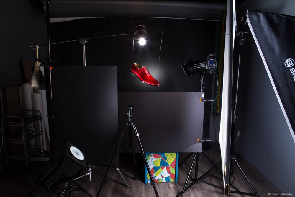 Productfotografie schoen bts