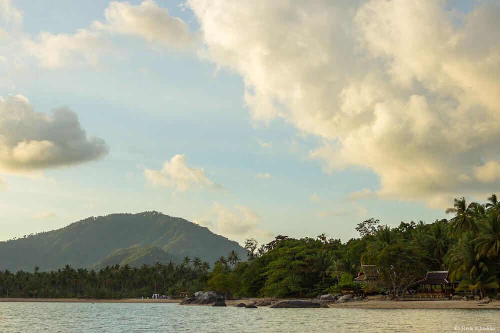timelapse zonsonderang thailand