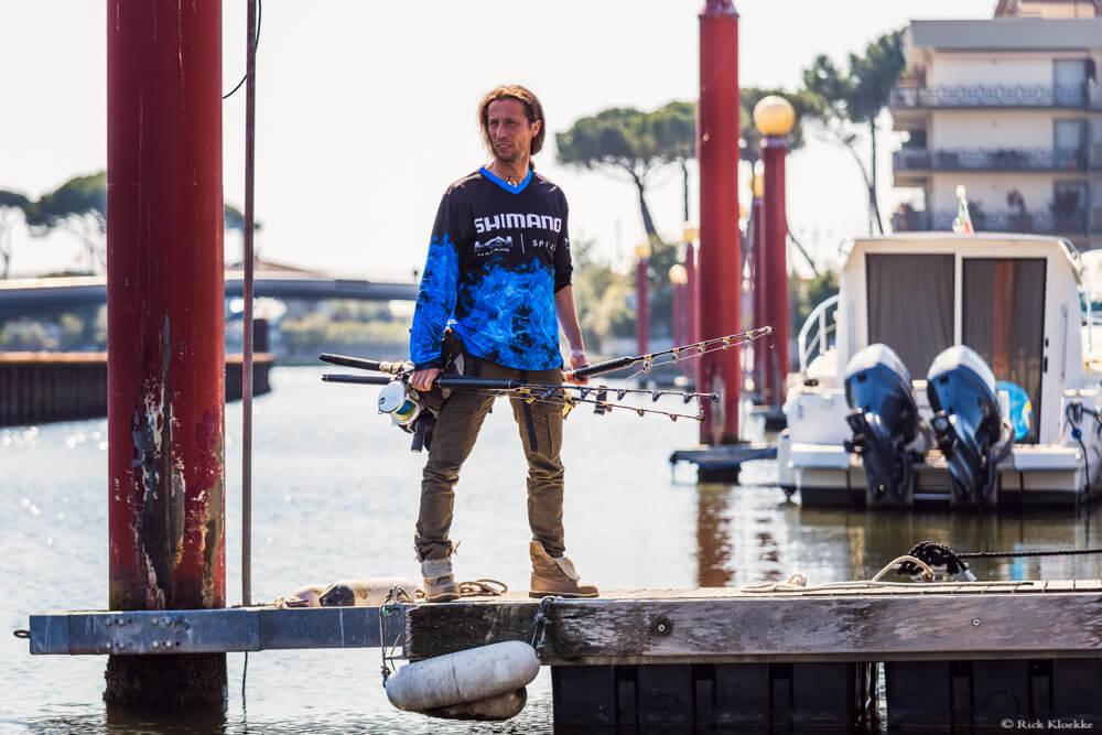 fotoshoot shimano italië