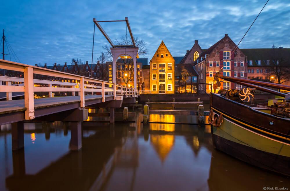 Pelsbrugje blue hour