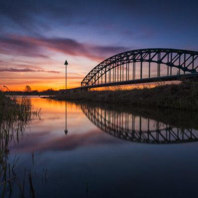 IJsselbrug zonsopkomst
