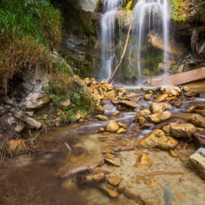 Waterval landschapsfoto italie