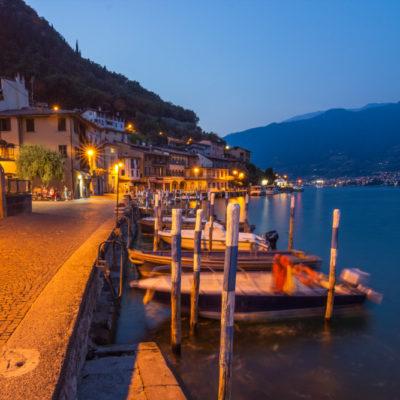 Lago d'Iseo blauwe uurtje Italie