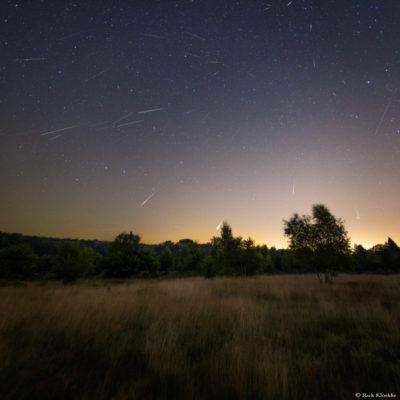 Meteorenregen de Perseiden Sallandse Heuvelrug