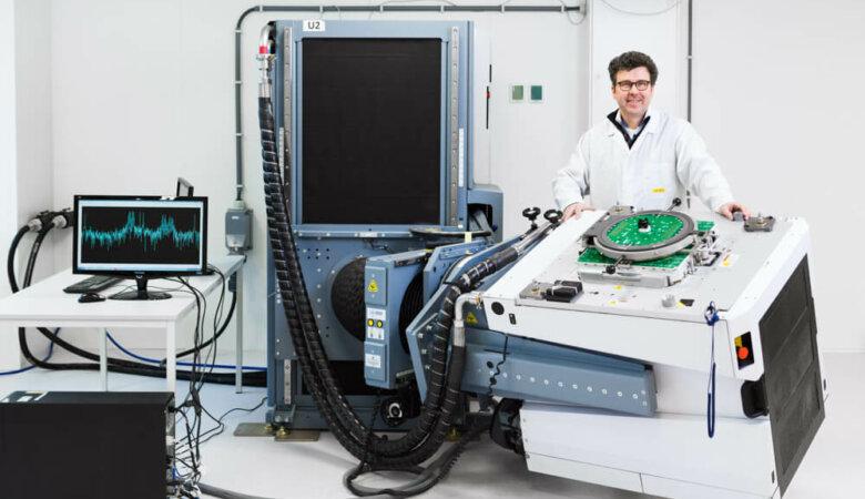 Foto voor in het Bits&Chips Magazine voor Salland Engineering, Zwolle.