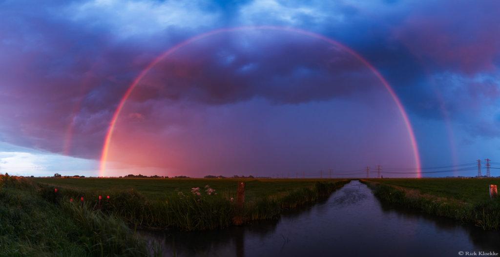 Regenboog polder Mastenbroek