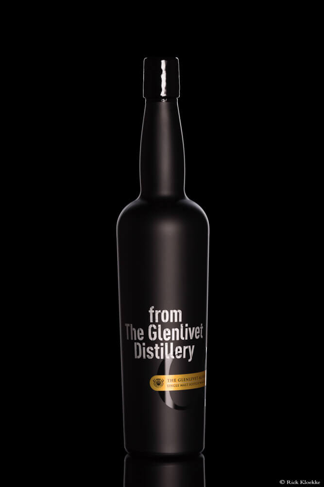 Productfoto whisky fles.