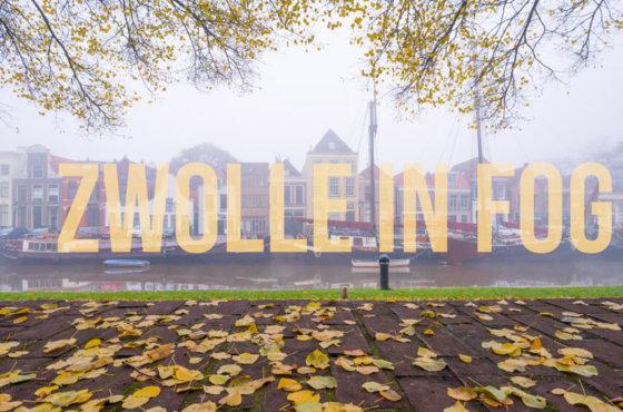 Zwolle In Fog – Timelapse