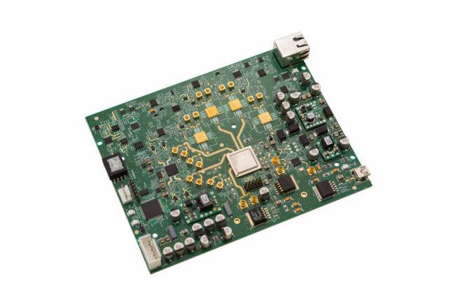 Productfoto van een circuit board