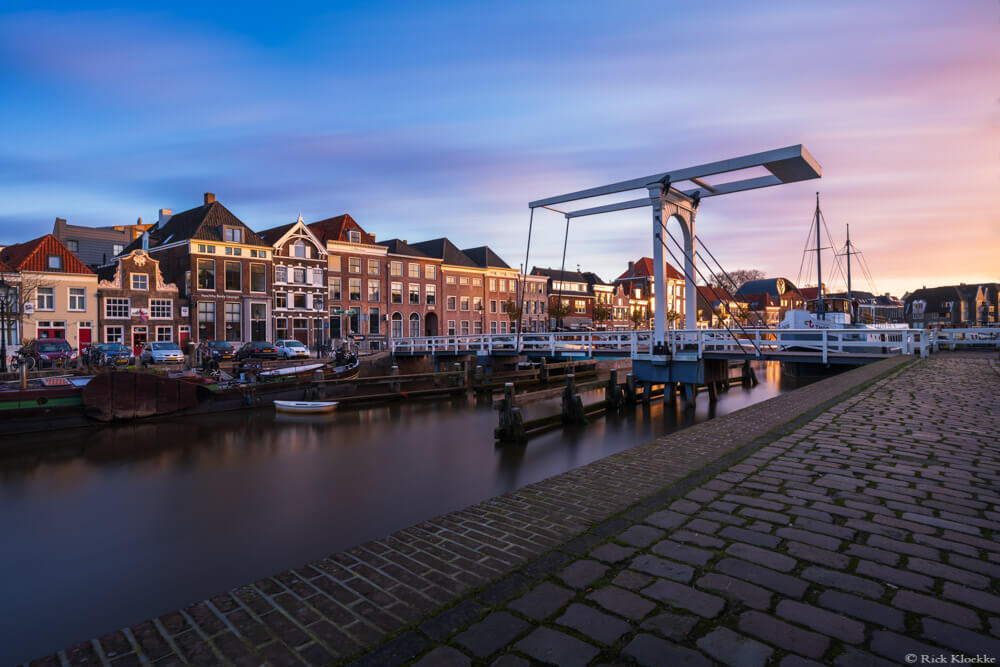 Zonsopkokmst Zwolle pelsbrugje