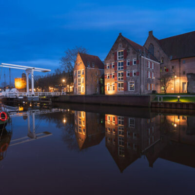 Blue hour Zwolle