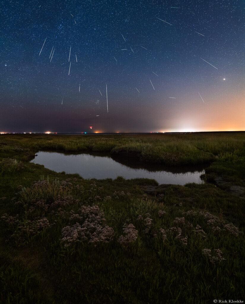 Perseïden meteoren foto