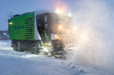 De winterdienst van ROVA